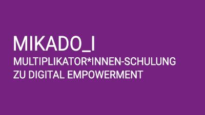 MIKADO_I: Multiplikato*innen Schulung