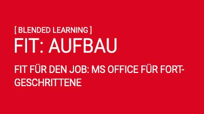 FIT AUFBAU: MS Office für Fortgeschrittene