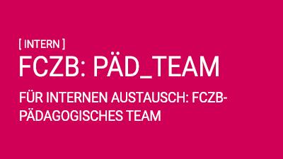 FCZB: Austausch Pädagogisches Team
