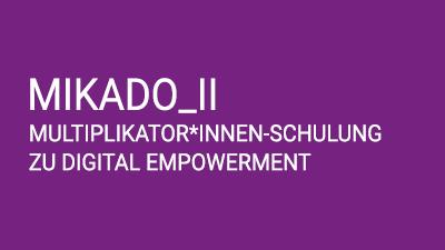 MIKADO_II: Multiplikato*innen Schulung